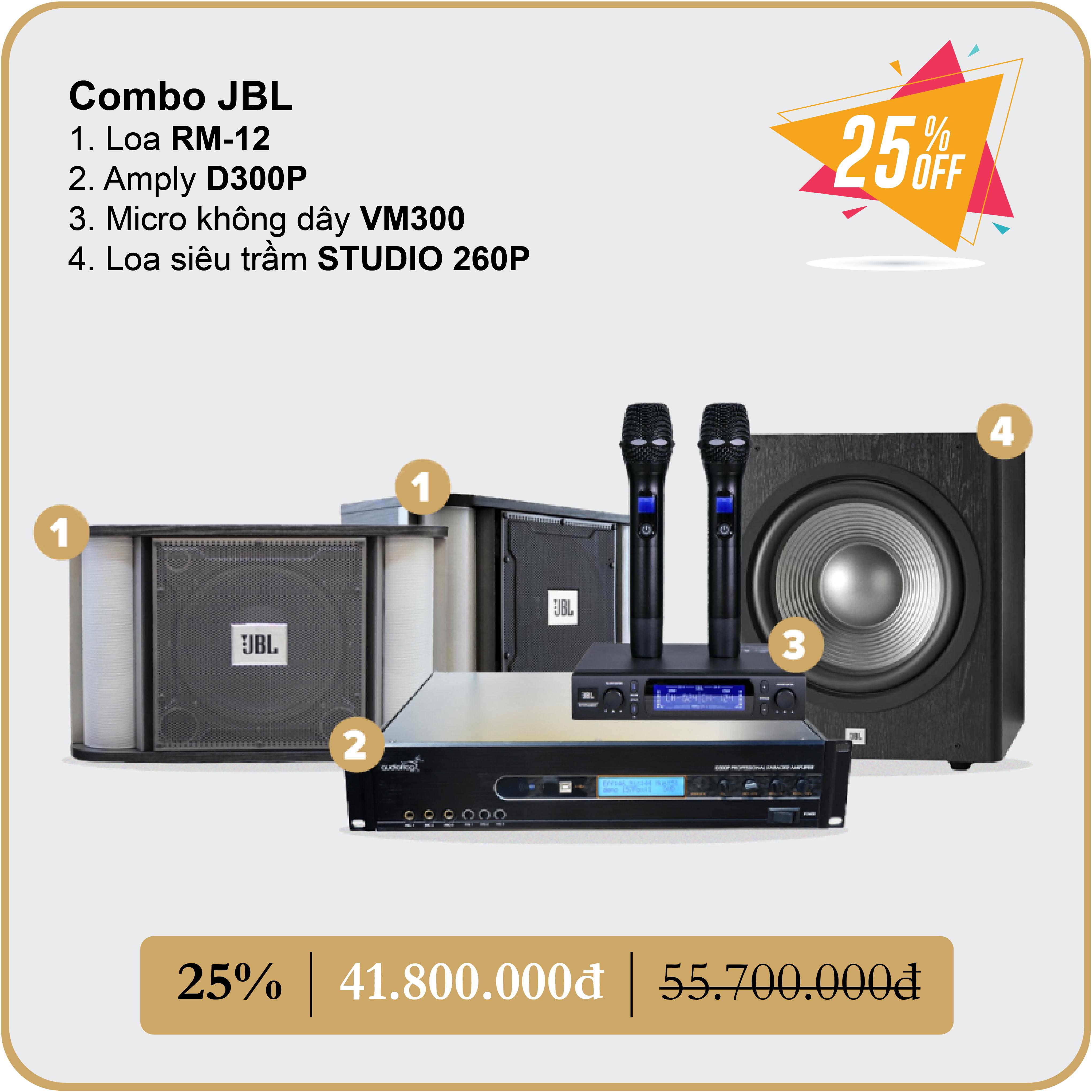COMBO JBL 3