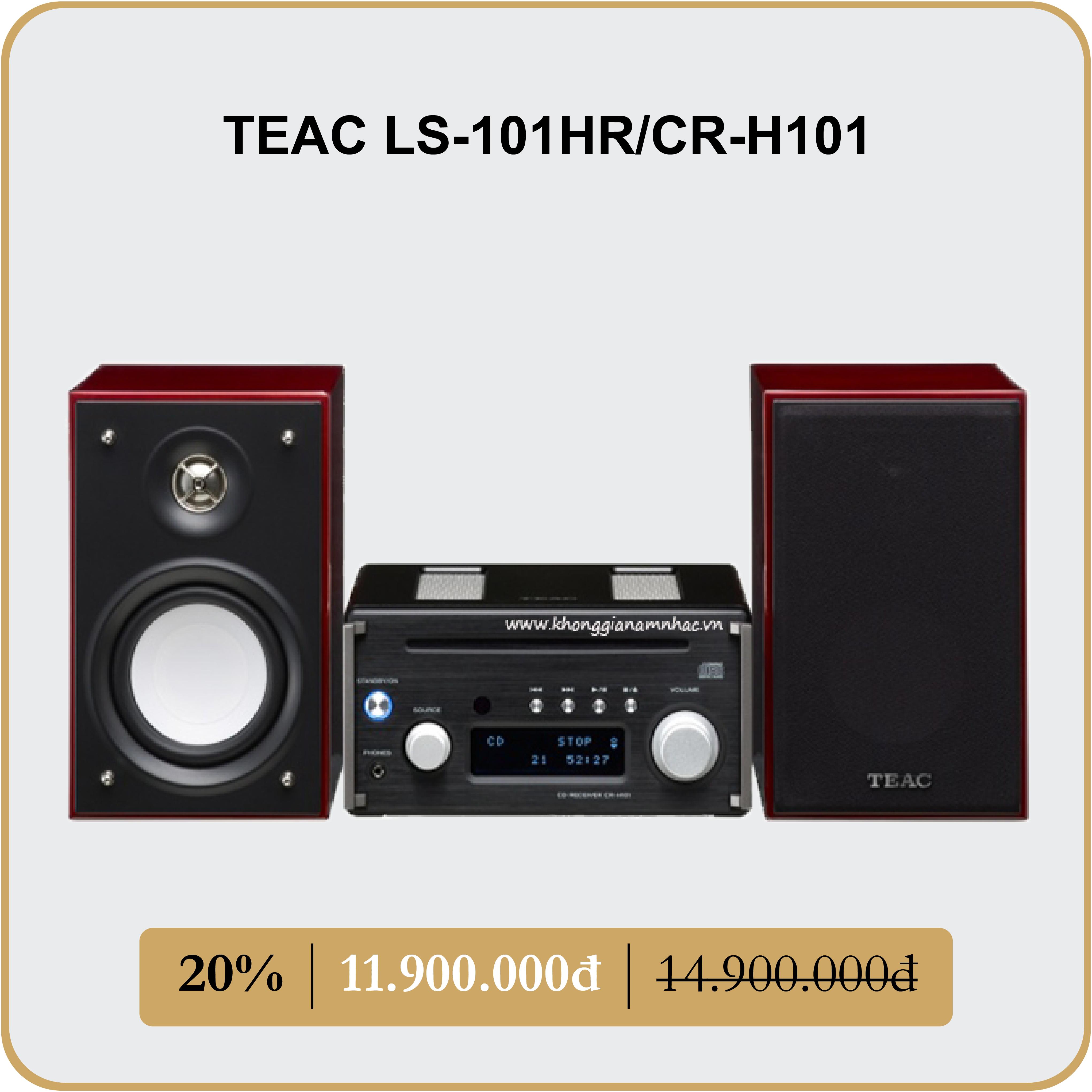TEAC LS-101HR/CR-H101