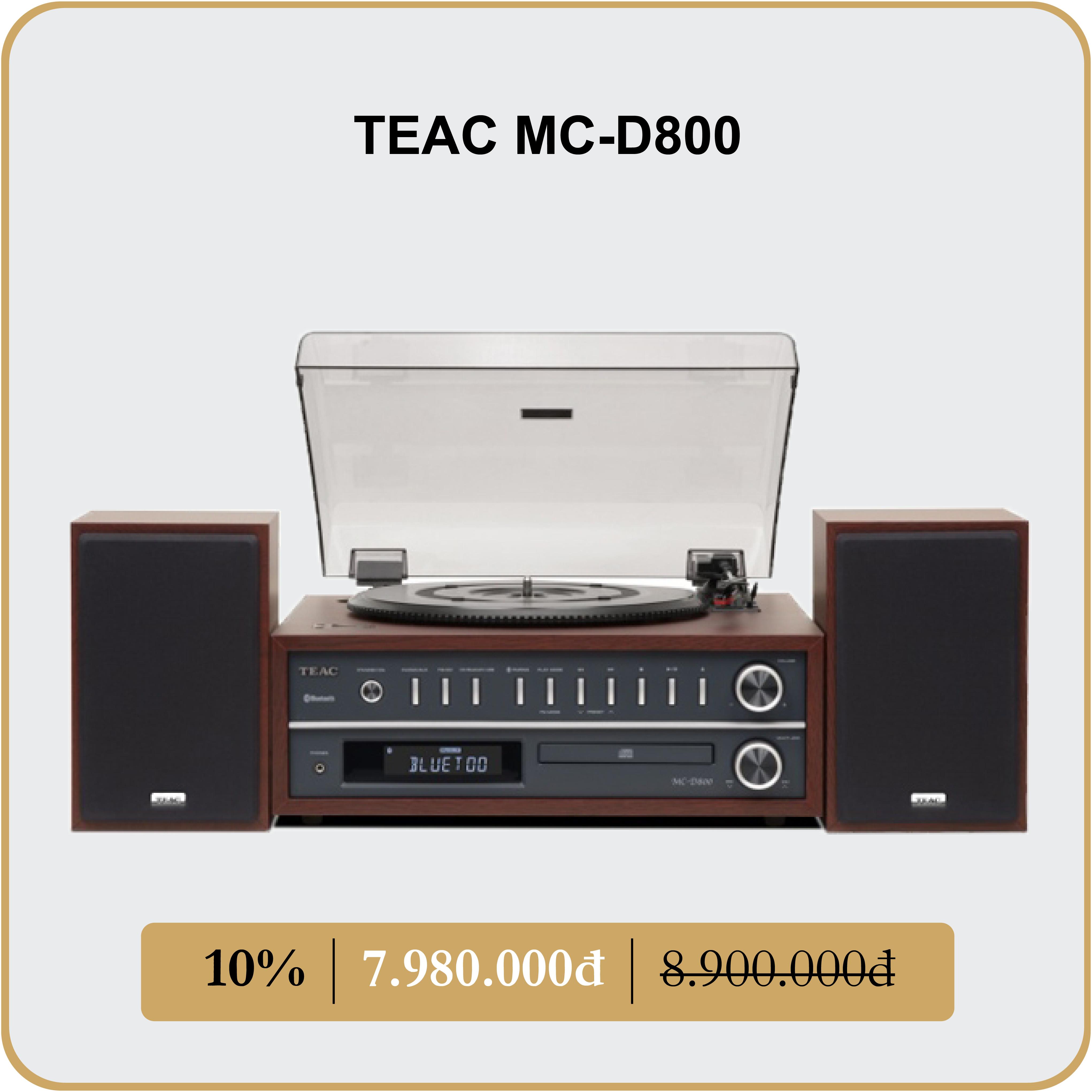 TEAC MC-D800