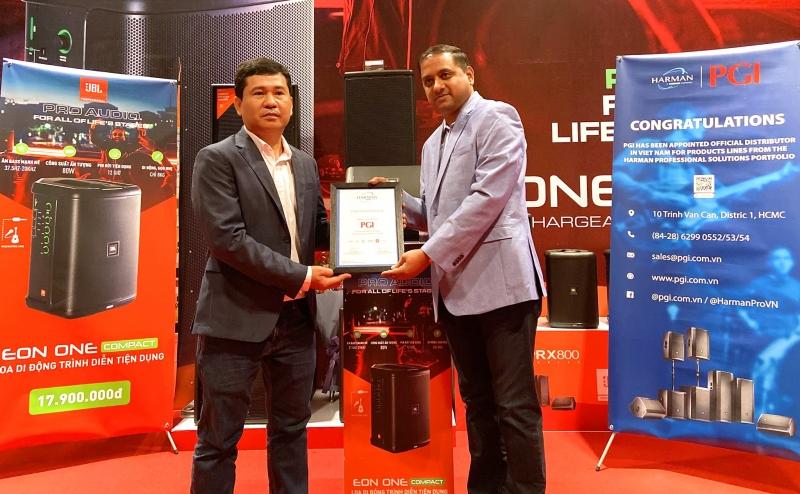 Công ty TNHH Phúc Giang - nhà phân phối chính thức HARMAN Professional Solutions tại Việt Nam