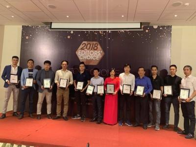 Lễ trao giải Editorss Choice Award 2018 của Tạp chí Nghe Nhìn Việt Nam